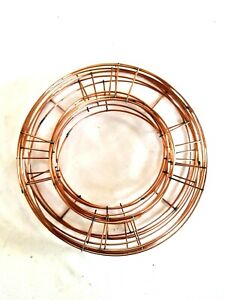 """Flat Wire Wreath Rings Frame Christmas Flower Craft 6"""" 8"""" 10"""" 12 inch"""
