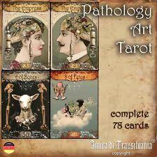 pathologie tarot tarotkarten karten deck buch vintage orakel deck antikes neu 2B
