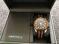 Certina DS Action Orange Noir Montre à quartz