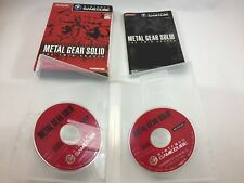 Metal Gear Solid The Twin Snakes; Nintendo Gamecube; Japan Import