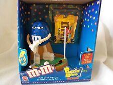 New  M&M's Putting GOLF BLUE dispenser with BOX