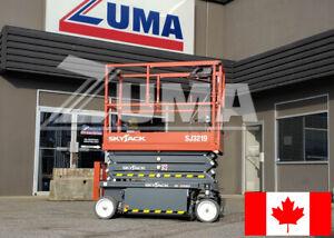 NEW 2020 Skyjack SJ3219 Scissor Lift For Sale - STOCKED IN CANADA!
