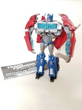 Transformers Prime 2012 Voyager Class Optimus Prime Red Semi-Truck + instruction