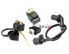 GY6 50 125cc 150cc Ignition Coil CDI Solenoid Relay Regulator ATV Scooter Moped