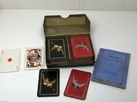 Vintage Art Deco Dated 1933 Patience Playing Card In Box