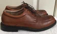 Mens FLORSHEIM 11639-221 Brown Leather Oxford Shoes SIZE 10 M EUR 43