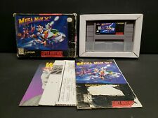 Mega Man X2 (Super Nintendo SNES, 1995) Complete Boxed CIB Rough