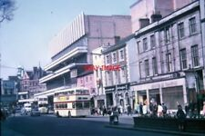 PHOTO  1969 HUMBERSTONE GATE LEICESTER TAKEN IN MAY 1969 THIS PHOTO SHOWS HUMBER