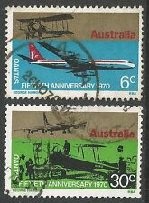 Aviation Australian Stamps
