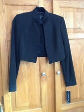 ANNE KLEIN  JACKET SIZE 2 NEW WITH TAGES BLACK