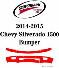 3M Scotchgard Paint Protection Film Clear Pre-Cut 2014 2015 Chevy Silverado 1500