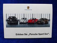 Porsche Zentrum Hamburg - Angebote 911 Cayenne GTS - Prospekt Brochure 03.2009