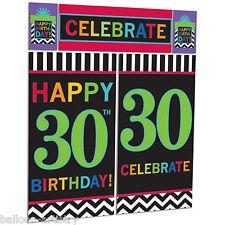 Festa Felice 30 Festa di Compleanno Scena Setter Decorazione Muro Kit