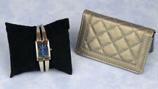 Jaclyn Smith ladies wristwatch in working condition & Buxton wallet