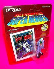 Ertl THE JOKER Die-Cast Metal Action Figure Mini BATMAN DC COMICS BOOK Unpunched
