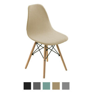 Shell Chair Seat Cover Banquet Dinners Home Dining Room Kitchen Slipcover