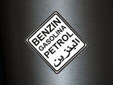 1 x Aufkleber Benzin Gasolina Petrol Arabisch Tank Sticker Benzin Tuning Auto