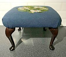 Small Tapestry Footstool