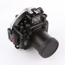 40m 130ft Diving Housing F Olympus OMD E-M5 II EM5II Camera Underwater Hard Case