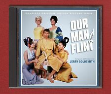 OUR MAN FLINT Jerry Goldsmith COMPLETE SCORE (22 previously unreleased tracks)