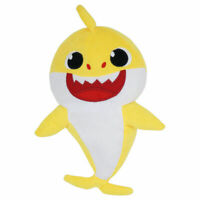 Baby Shark Plush Singing Official Music Song Pinkfong Plush Toys WowWee - YELLOW