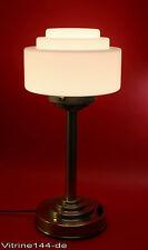 BAUHAUS Tischleuchte Design Gispen Entwurf 1925 Stehlampe Pilzlampe silber matt