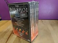 The Bolshoi Collection, Vols. 1-5 (DVD, 2004, 5-Disc Set) New and Sealed!