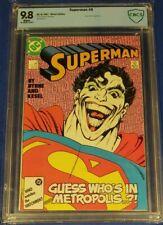 Superman #9 (1987) 💥 CBCS 9.8  wp 💥 John Byrne Classic JOKER not cgc