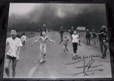 Kim Phuc Authentic Autographed Signed Vietnam War Napalm Girl 11x14 Photo W/Coa