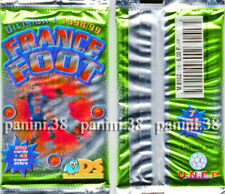 """RARE !!! Pochette """"FRANCE FOOT 1998-1999"""" packet, tüte, bustina PANINI DS"""