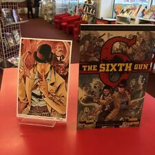 The Sixth Gun Vol 4 - Ex Libris Challengers EXCLUSIVE Signed Bookplate