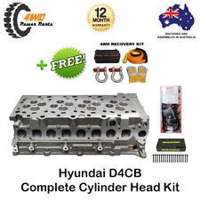 Hyundai I-Load I-Max D4CB 4 Cyl 16v Diesel Complete Head Kit w/ VRS Gasket Bolts