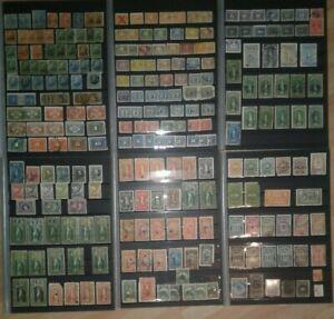 Briefmarkensammlung Kanada Revenue Stamps
