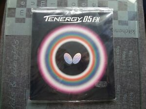 used table tennis rubber BUTTERFLY TENERGY 05-FX