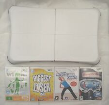 NINTENDO WII FIT PLUS BALANCE BOARD AND GAMES  FITNESS BONANZA BUNDLE