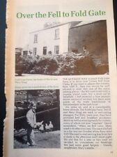 52607 ephemera 1991 Cumbria Article Fold Gate Farm David Mary Hogg