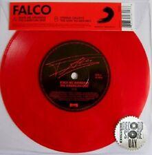"FALCO rock me amadeus/vienna calling - 7""/Red Vinyl-Limited 1000"