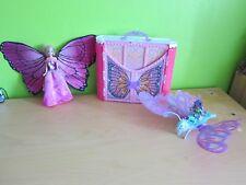 Paket Barbie Schloss Schmetterling Mariposa Elfinchen Reittier tragbares Haus