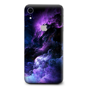 Skins Decal Wrap for Apple iPhone XR - purple storm clouds