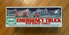 HESS Emergency Truck With Rescue Vehicle 2005 *NEW* in Box - Never Opened!