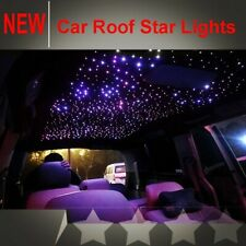 50W Car LED DMX Twinkle Fiber Optic Star Light Kit 28Key Remote 1000 Strands 12V