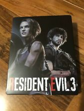 Resident Evil 3 Steelbook Case PS4/XBOX (NO GAME) v2