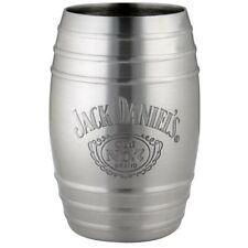 Jack Daniels Bottle Logo Barrel Shot Glass Silver