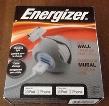 Energizer USB Wall Charger And Cable For ipod, iphone &; ipad