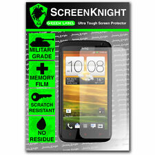 ScreenKnight HTC One X+ SCREEN PROTECTOR invisible Military Grade shield front