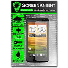 Screenknight HTC One X + Protecteur d'écran grade militaire invisible bouclier avant
