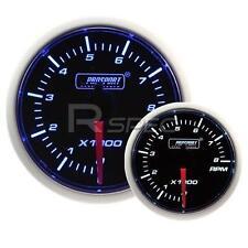 Prosport 52mm Super Ahumado Azul / Blanco Rpm Revoluciones Gasolina 0-10000rpm