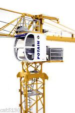 "Potain MDT178 Tower Crane - ""Yellow""  - 1/50 - TWH #047-01031"