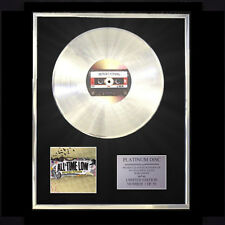 ALL TIME LOW NOTHING PERSONAL CD PLATINUM DISC FREE P+P!!