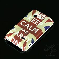 Sony Ericsson ST21i Xperia Tipo Hard Case Hülle Etui Cover Keep Calm Carry ON